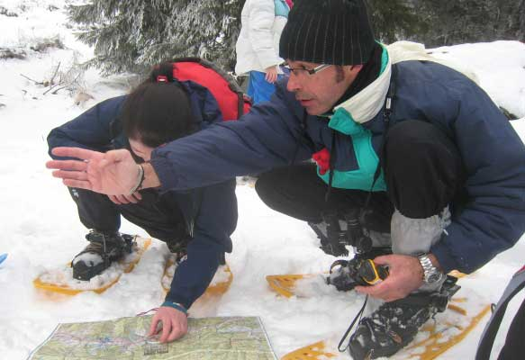 Deciding on a survey route